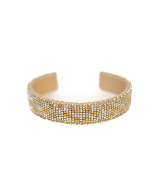 Lina Glass Cuff: Small