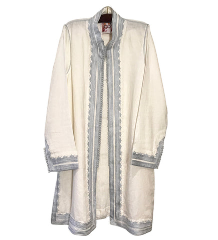 Zehra's Silk Ikat Coat
