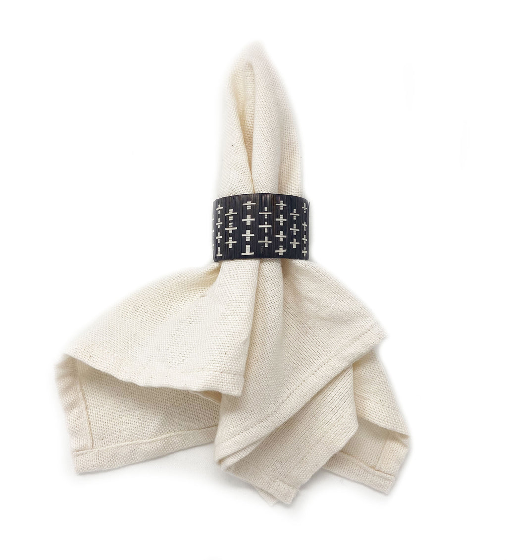 Raw Cotton Napkin: Natural