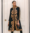 Madina Copper and Black Jacket