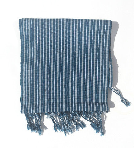 Men's Maya Koton Scarves: Blue