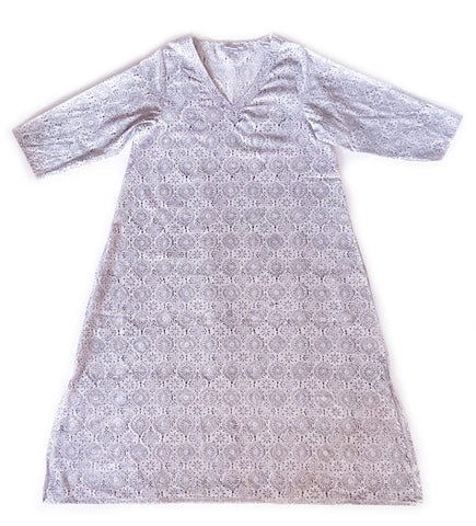 Taraka Organic Cotton Dress: Cobalt