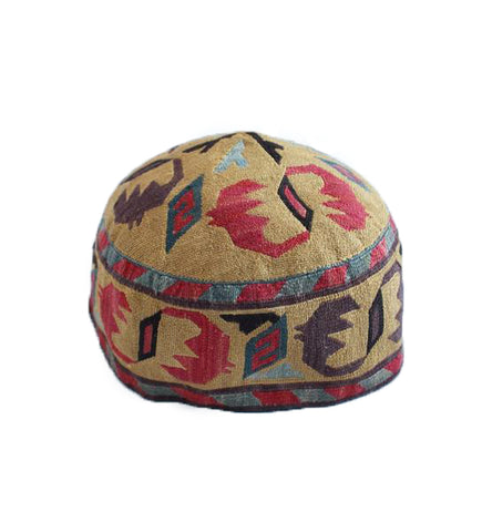 Embroidered Hat: Medium