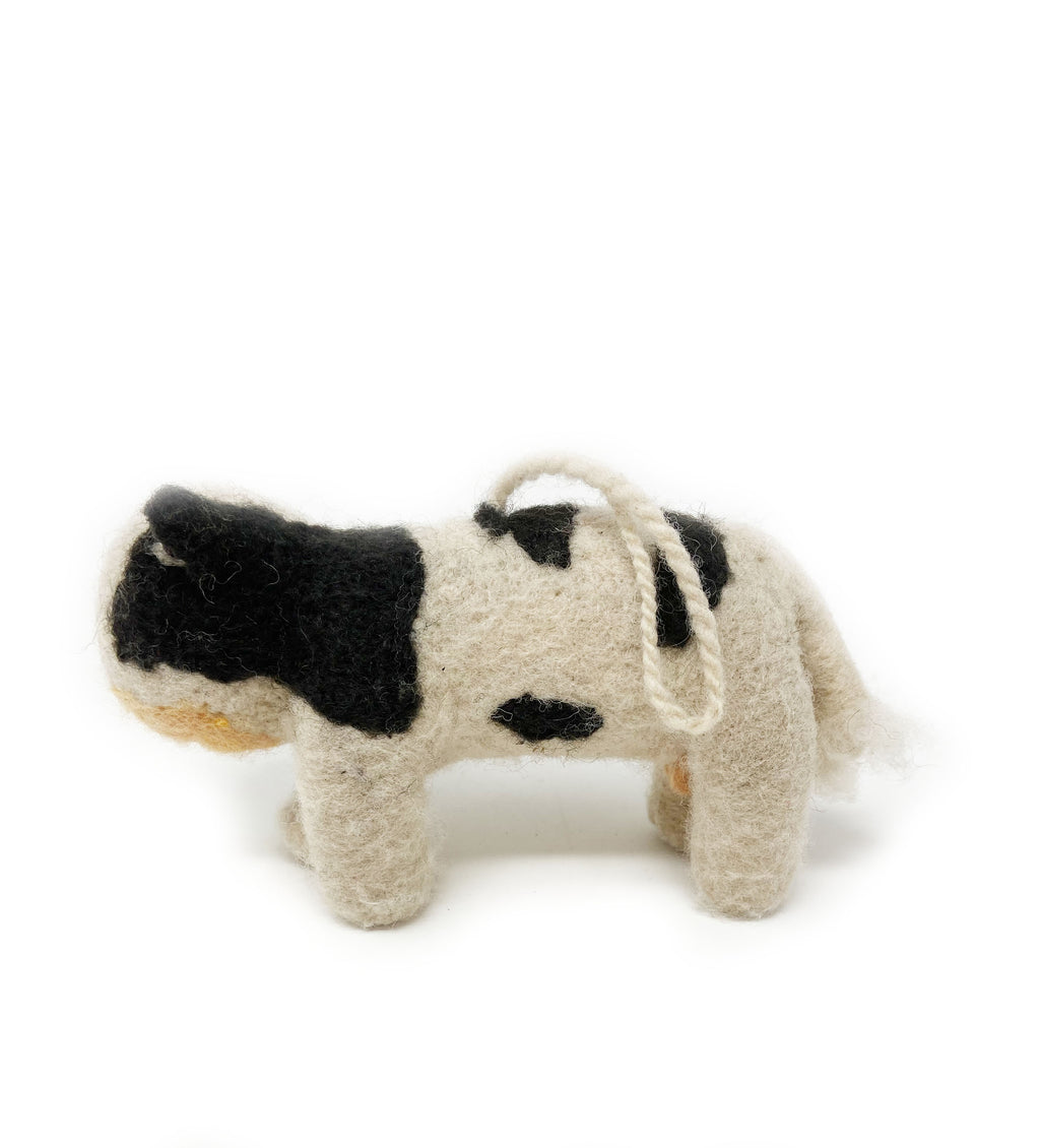 Mini Carla the Cow Ornament