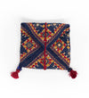 Mirrored and Embroidered Pouch: Large