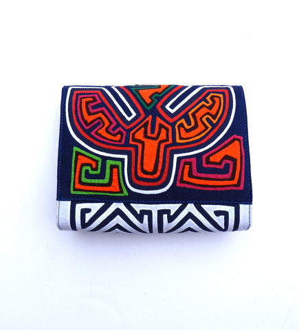 Mola Sasa Clutch: Navy and Multi