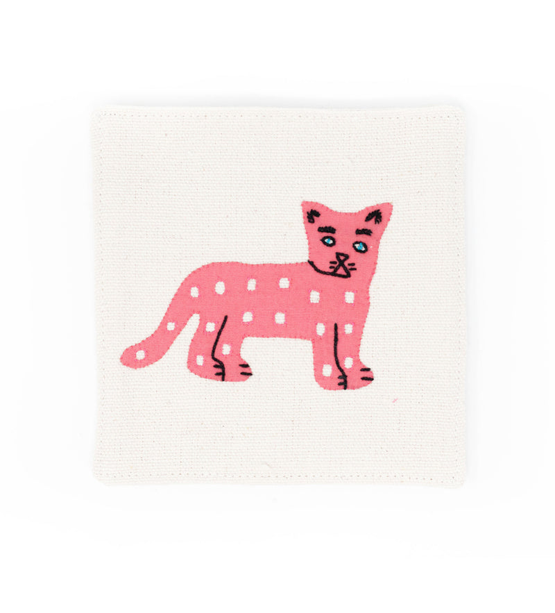 Mola Jaguar Cocktail Napkins