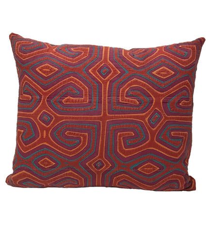 Indigo Chinese Minority Pillow Large