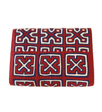 Mola Sasa Clutch: Red/Blue/White