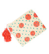 Molly Spotted Clutch: Coral