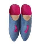 Moroccan Slide: Blue/Fuschia
