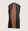 Mud Silk Long Vest