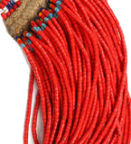 Naga Red Full Fine Bead Necklace