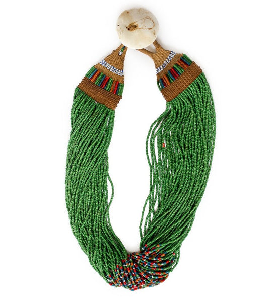 Naga Green with Multi Full Necklace