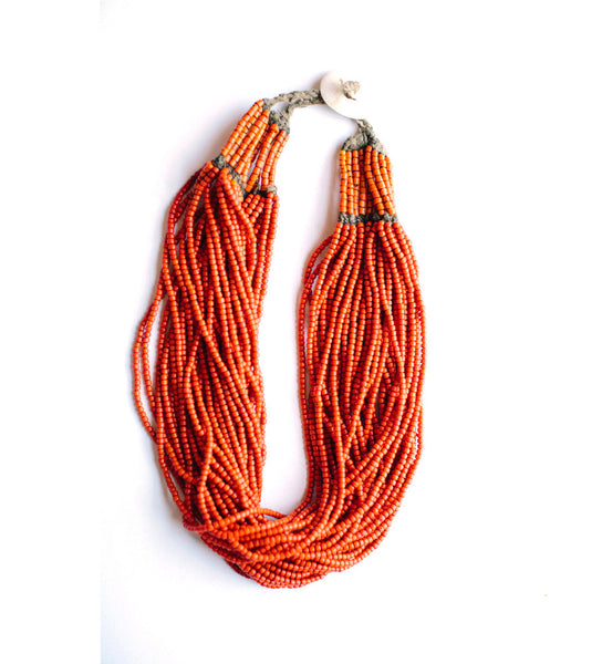Naga Orange Full Necklace