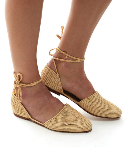 The Island Ankle-Wrap: Natural