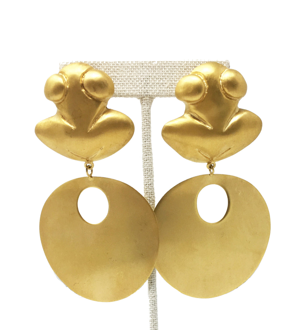 Neiva Frog Earrings