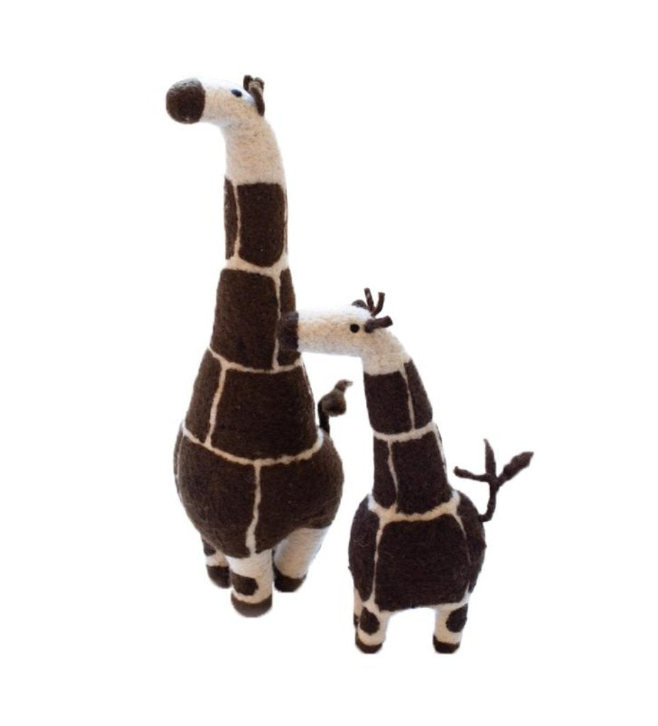 Ollie the Felted Giraffe: Large