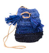 Olympia Crossbody Bag: Navy Ombre