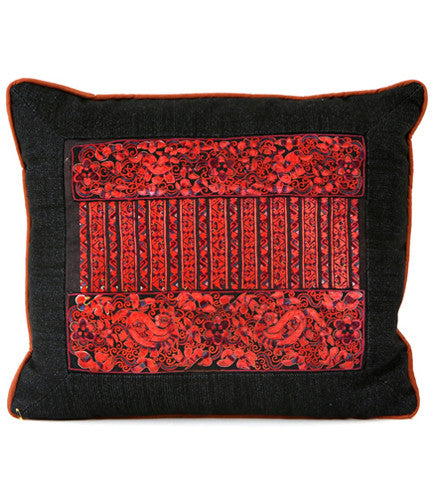 Chinese Embroidered Pillow