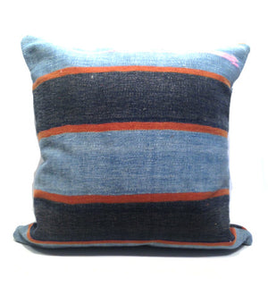 100 Year Old Dhurrie Pillow: Medium