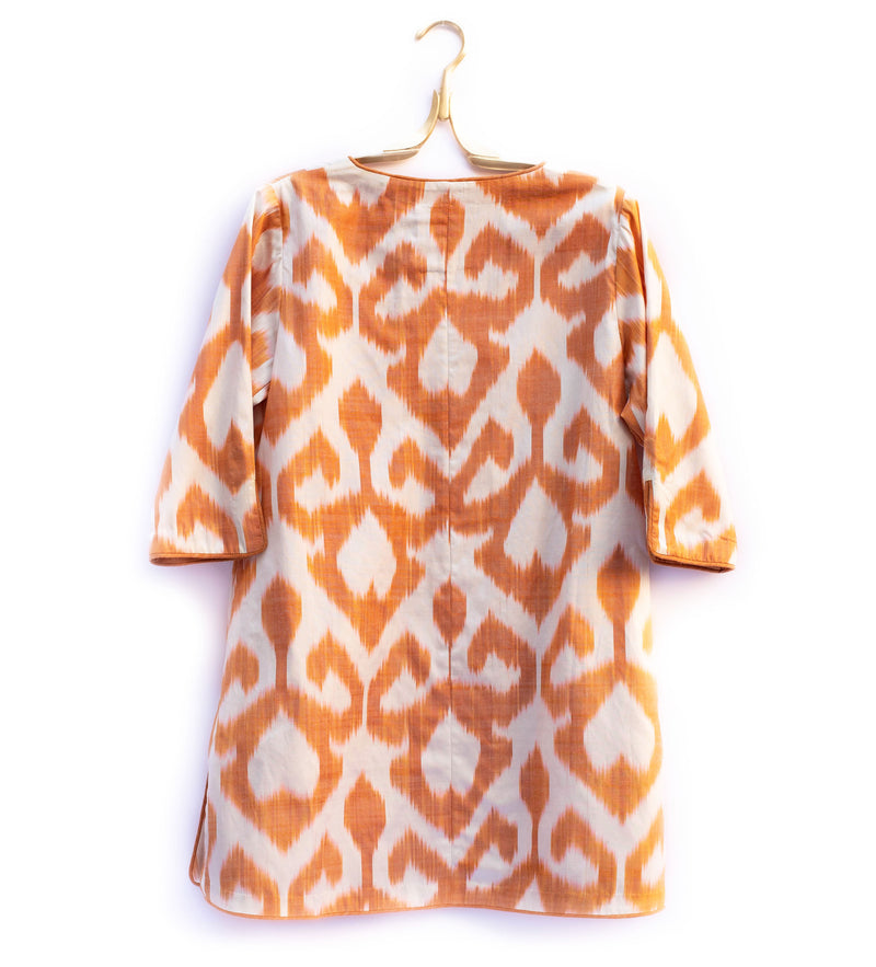 Sunrise Ikat Tunic