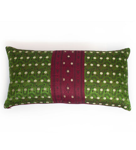 Indigo Square Pillow