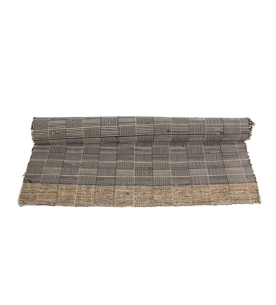 Plaid Vetiver Table Runner