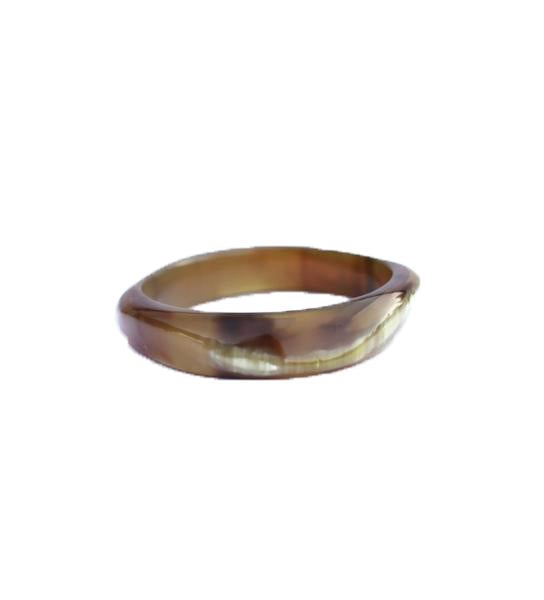 Polished Horn Bangle
