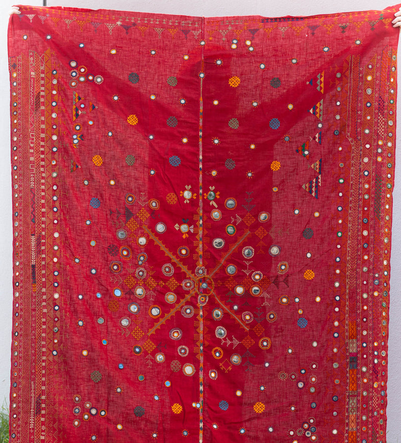 Vintage Rabari Men's Indian Shoulder Cloth