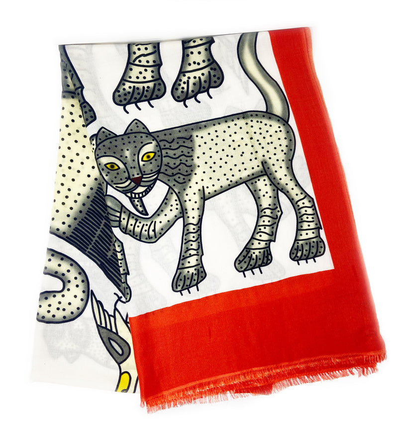 Laughing Lions Scarf