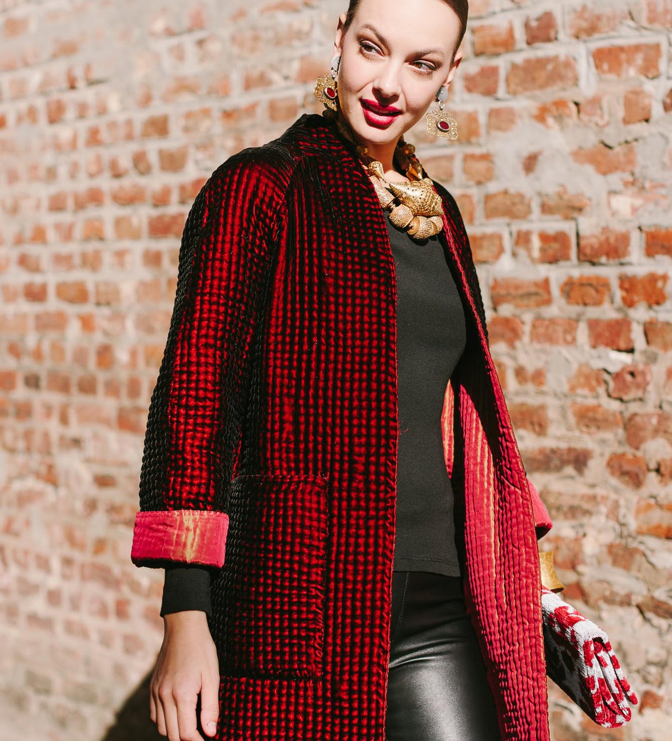 Reversible Red Magic Coat