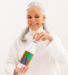 Hope + Love Insulated Water Bottle: Blue, Green, Red