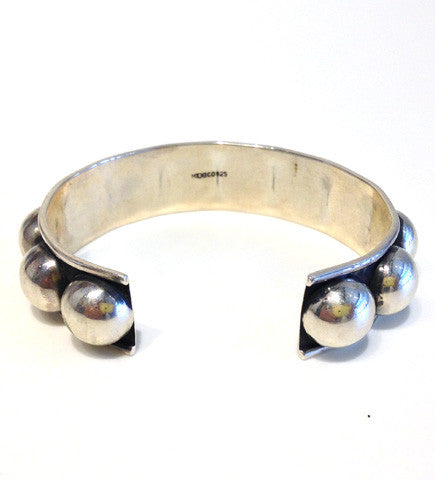 Silver from Mexico: Cuff 12mm