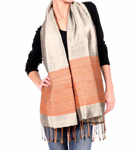 Rice Paddy Scarf