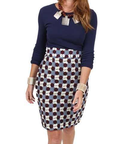 Francis Pencil Skirt