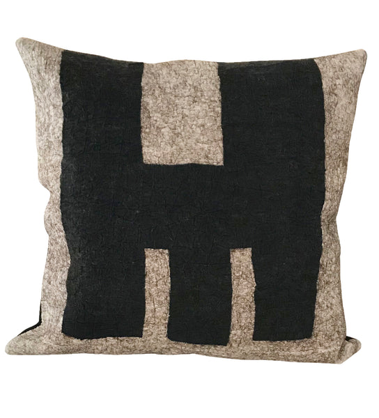 Felted Pillow: Contrast
