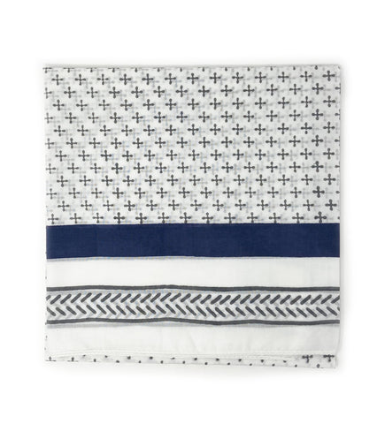 Lavani Scarf: Black and White