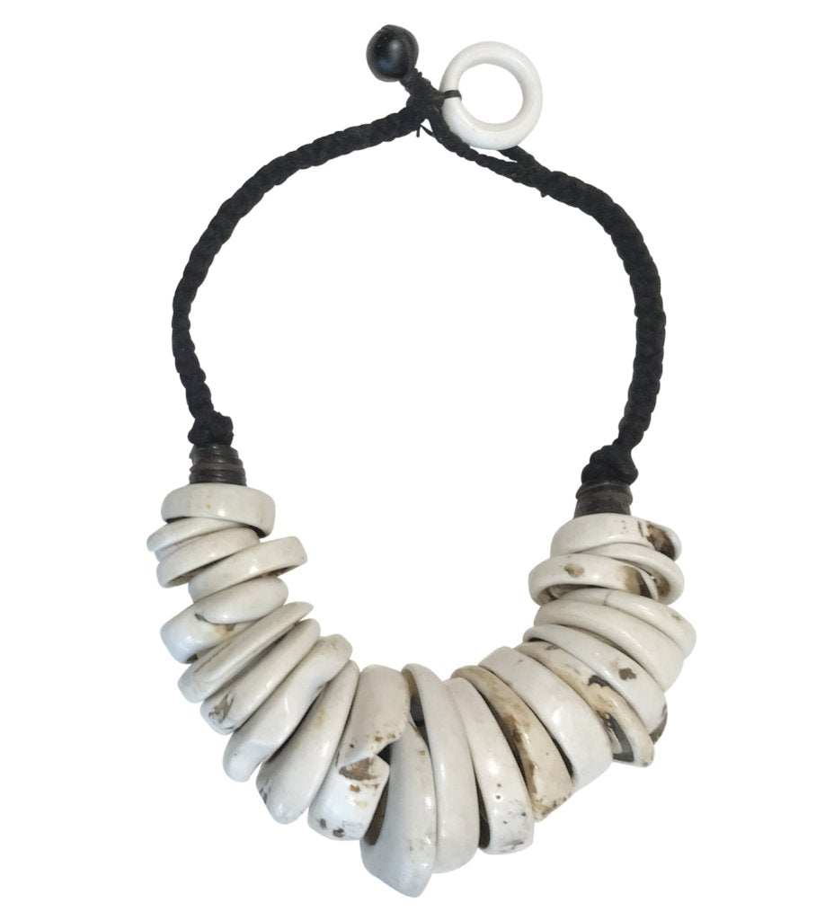 Moroccan Vintage Shell Necklace