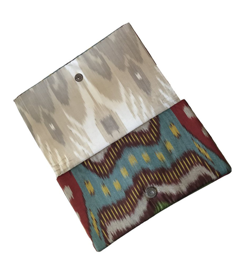 Signature Ikat Clutch