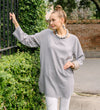 Rani Printed Cotton Tunic: Grey