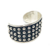 Silver from Mexico: Small Multi Dot Cuff