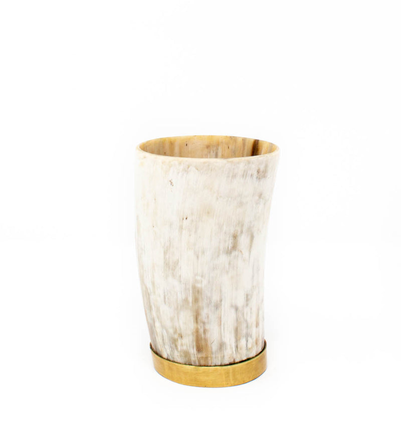 Horn Vase: Small Natural