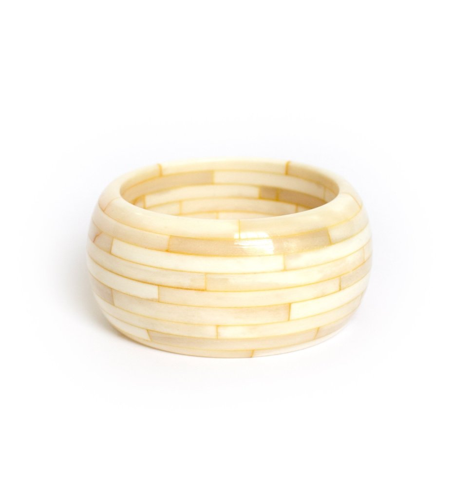 Solid Bone Bangle