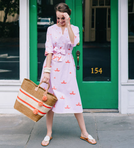 The Ourika Dress: Pink