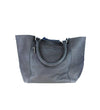 Lizbeth Springbok Structured Bag: Navy Blue