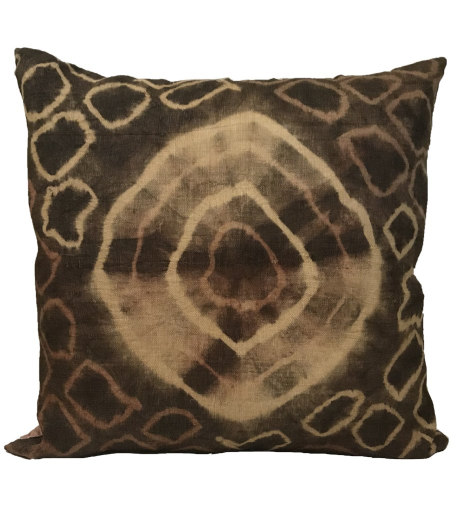 Square Kuba Cloth Pillow