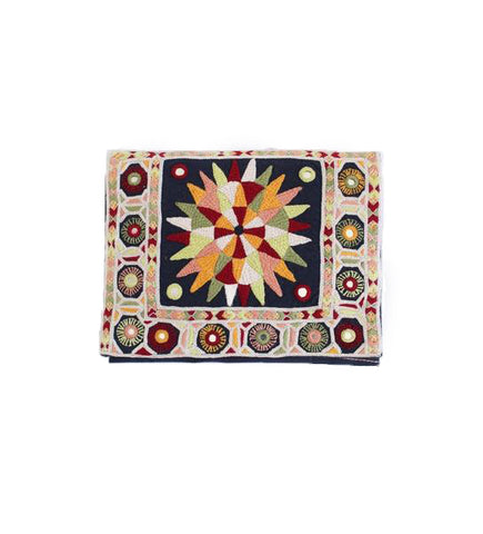 Embroidered Clutch: Sunburst