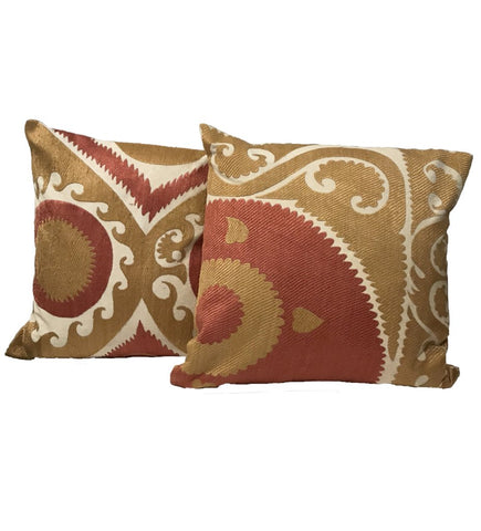 Swat Valley Vintage Hand Embroidered Pillow