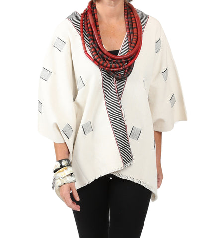 The Ali Tunic: White